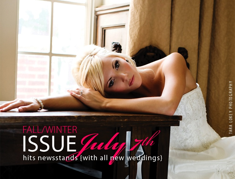 Fall/Winter July issue of the Brides of Oklahoma hits newsstands across Oklahoma on July 7