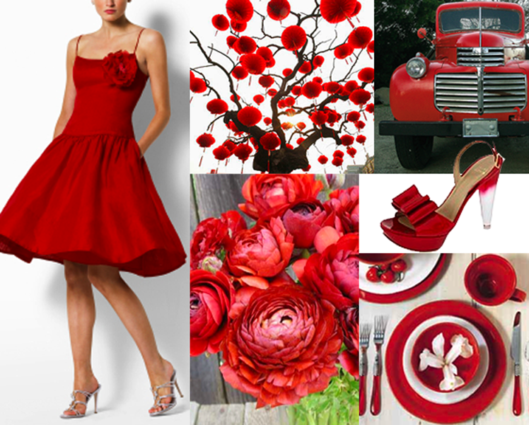 Incorporate all things red into your big event including china from B.C. Clark Jewelers