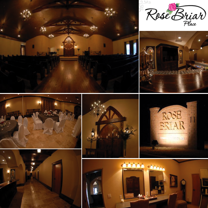 Rosebriar Place Is A New Quaint Wedding Chapel In Oklahoma City That Opened Its Doors This Past Autumn Located At 11900 N Council Road Old World