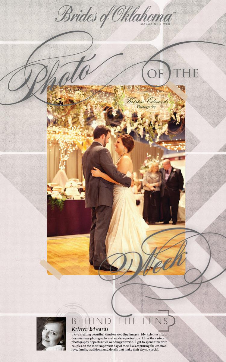 Brides of Oklahoma Photo of the Week Kristen Edwards Photography