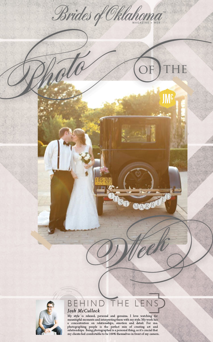 Brides of Oklahoma photo of the week Josh McCullock Photography