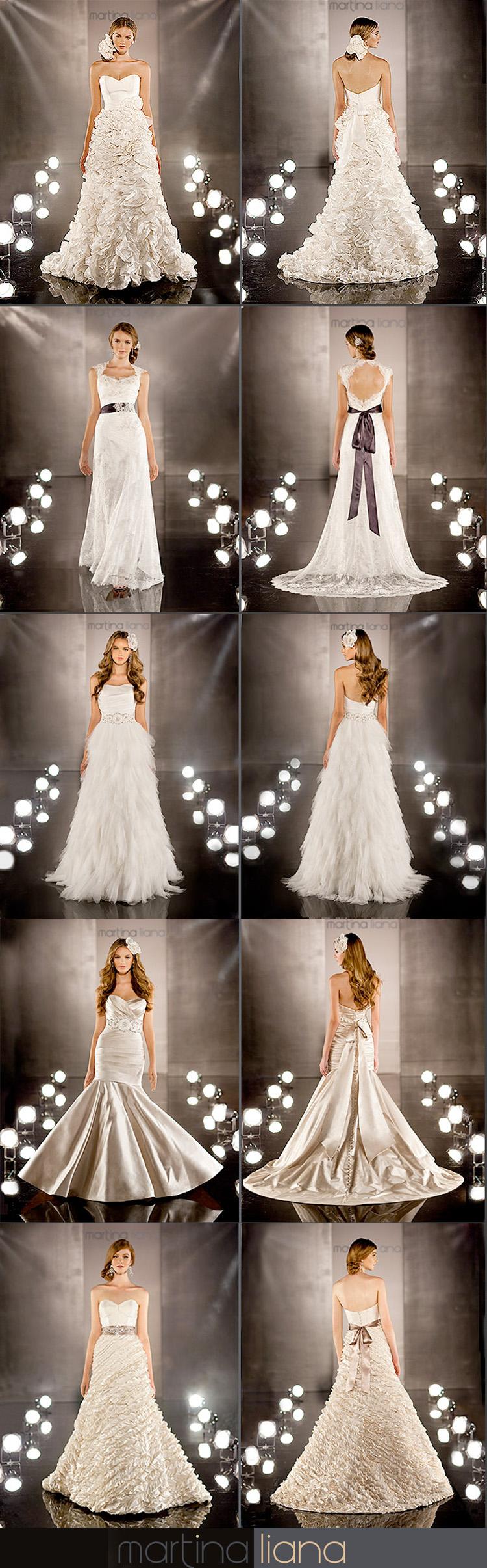 Martina Liana - Meg Guess Couture - Brides of Oklahoma - 2012 Collection