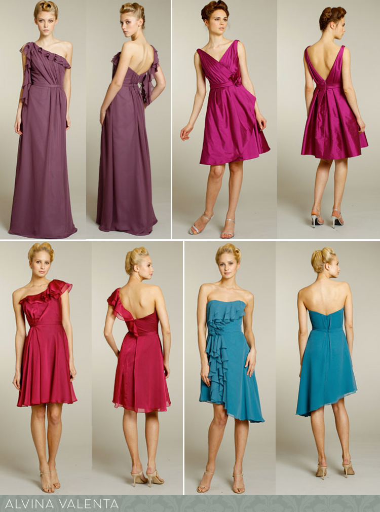 Alvina Valenta bridesmaid dresses available at JJ Kelly Bridal Salon in Oklahoma City