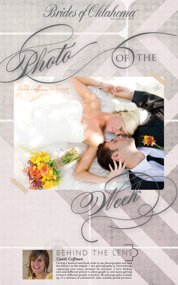 Brides of Oklahoma photo of the week Candi Coffman Photography