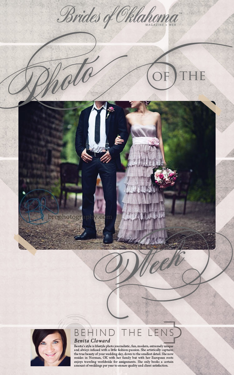Photo of the week Brides of Oklahoma BRC Photography