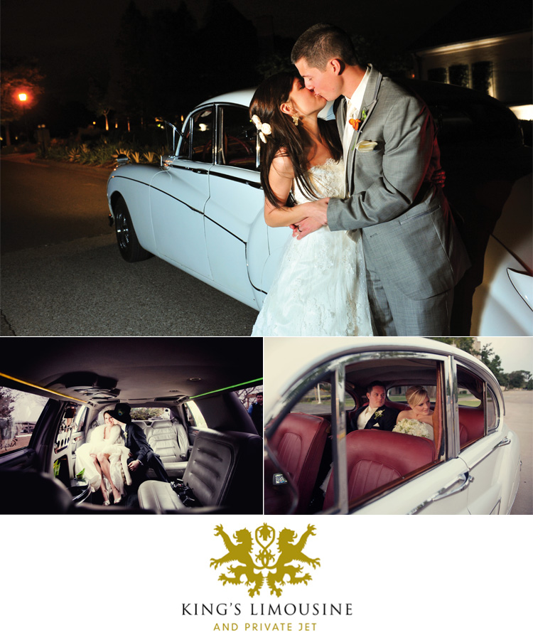 Oklahoma wedding transportation Kings Limousine