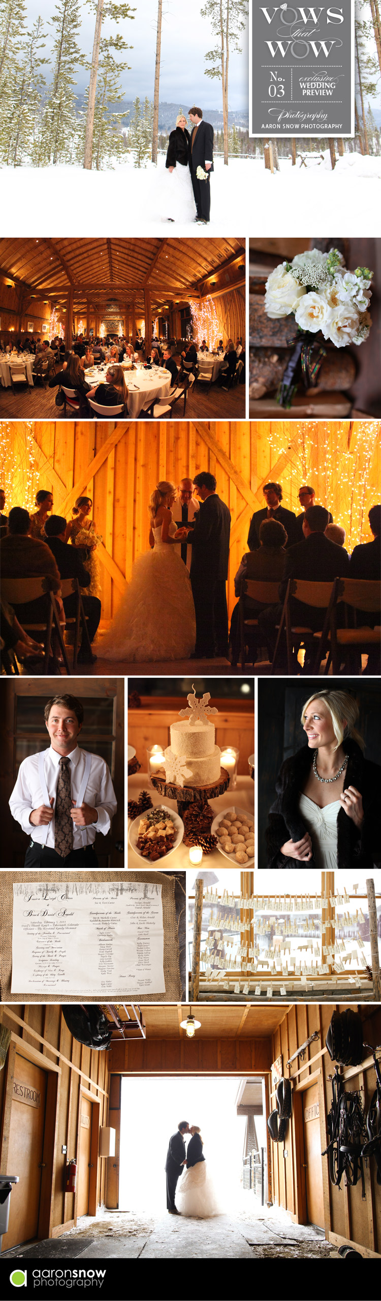 Vows that Wow - Jessi and Brian - Aaron Snow Photography