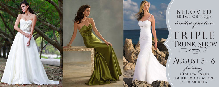 Oklahoma wedding dresses and bridesmaid dresses Beloved Bridal in Norman, Oklahoma