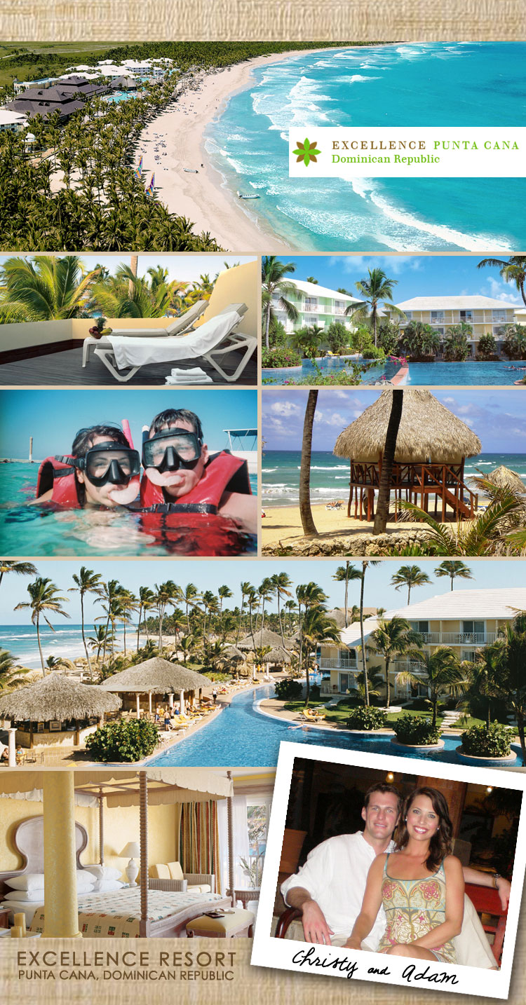 Excellence Punta Cana honeymoon hot spot