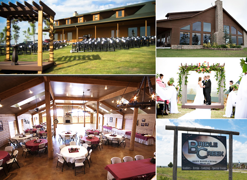 Oklahoma wedding venue The Lodge at Bridle Creek