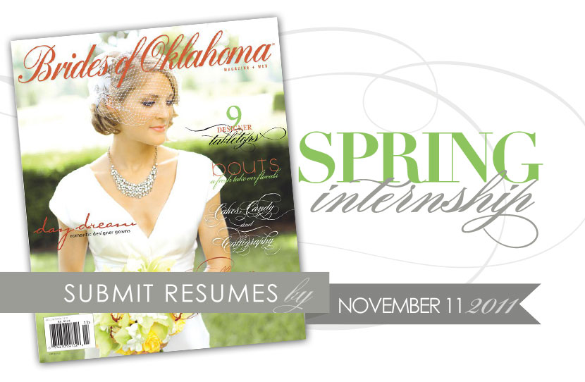 Brides of Oklahoma spring 2012 internship