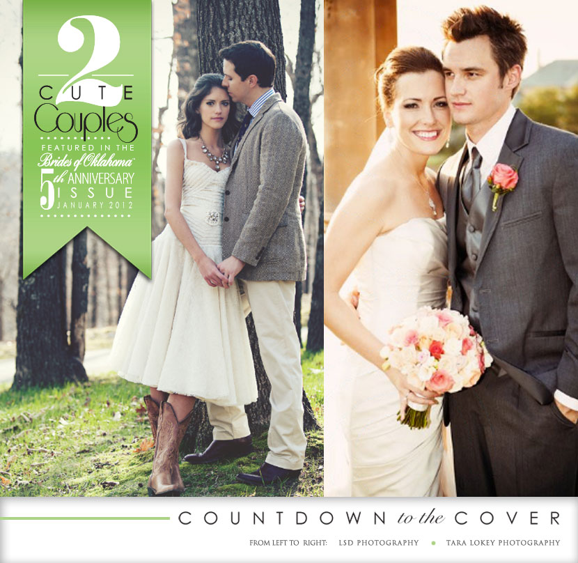 Brides of Oklahoma countdown to the cover Oklahoma weddings