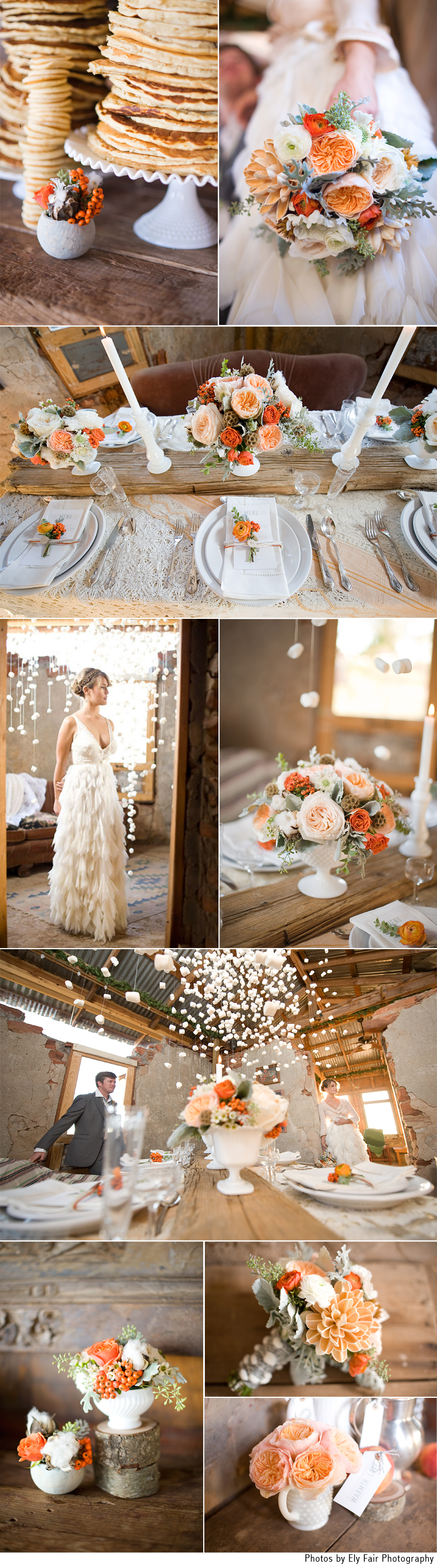 Oklahoma winter wedding inspiration