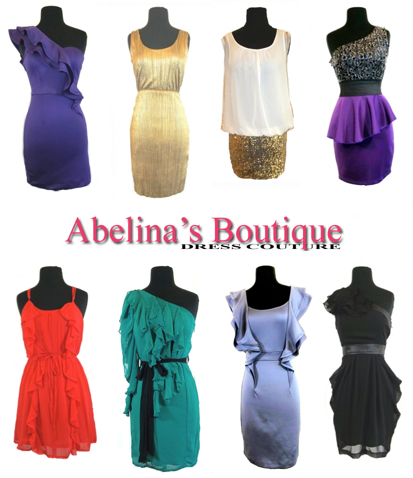 Oklahoma wedding party dresses Abelina's Boutique in Tulsa