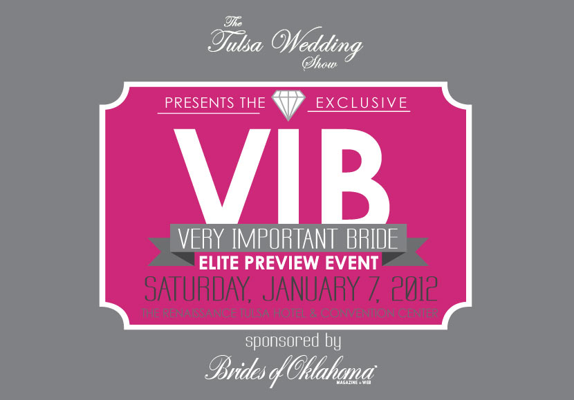 Tulsa Wedding Show VIB Event