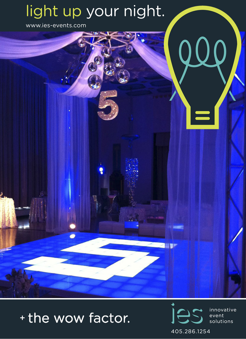 Oklahoma wedding and event lighting Innovative Event Solutions