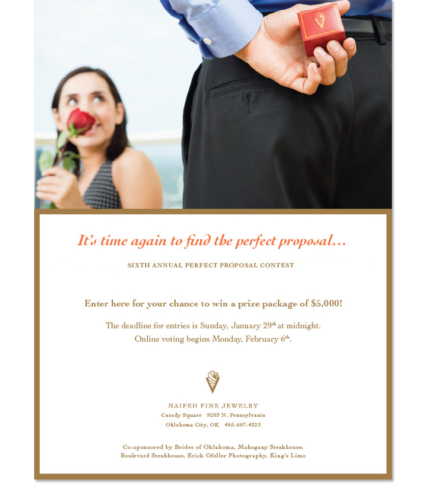 Naifeh Fine Jewelry Perfect Proposal contest