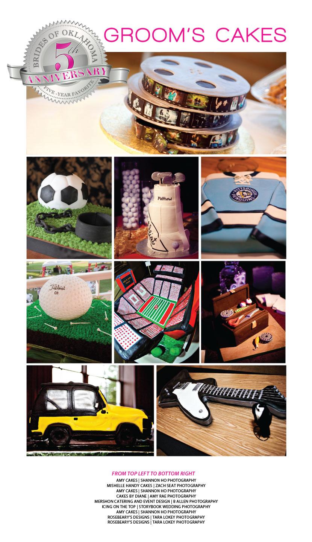 Oklahoma grooms' cakes
