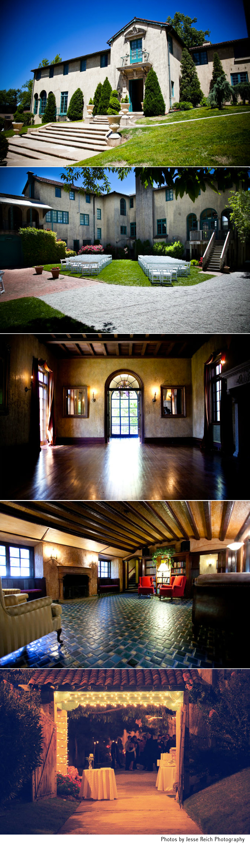 Oklahoma wedding and reception venue Dresser Mansion in Tulsa