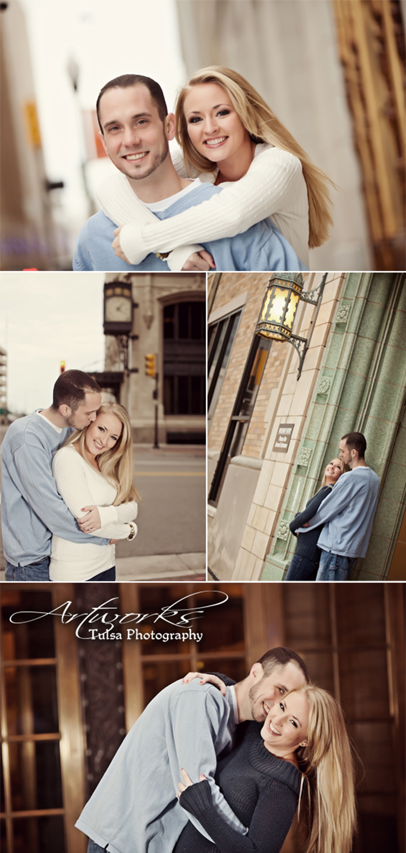 Oklahoma almost married couple Artworks Tulsa Photography
