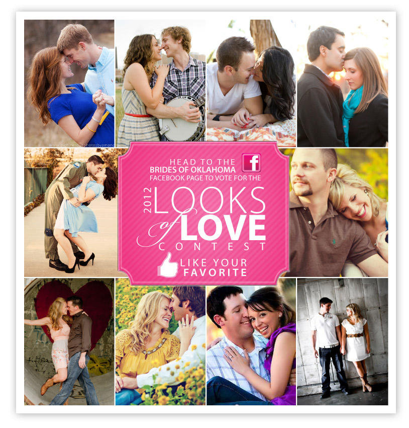 Brides of Oklahoma Looks of Love Contest Facebook Voting