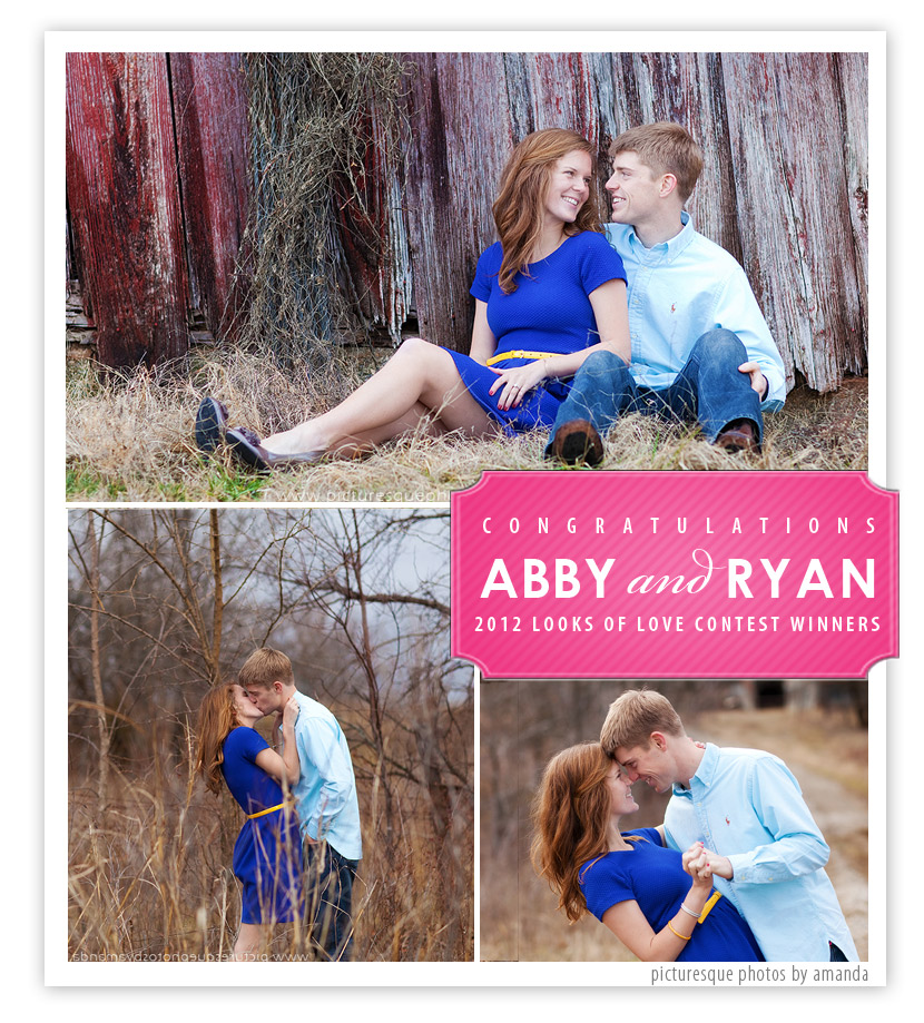 Abby and Ryan:  Looks of Love Winner