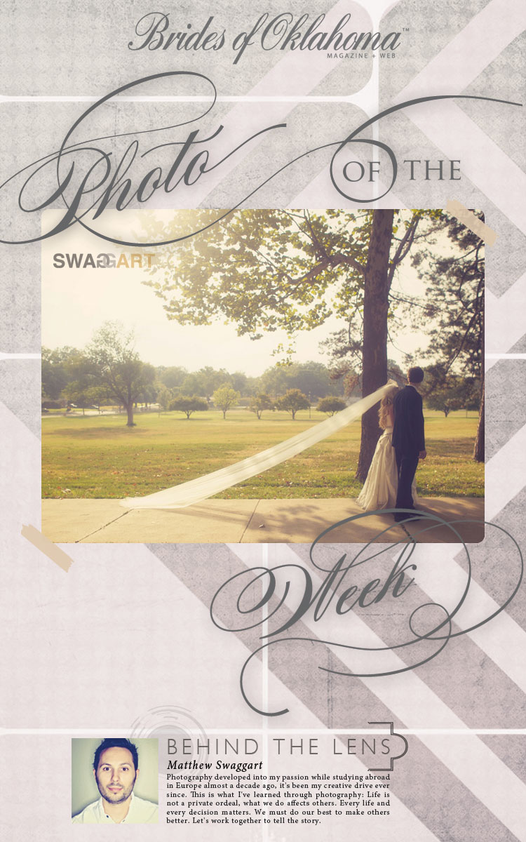 Brides of Oklahoma wedding photo of the week Swaggart Photography