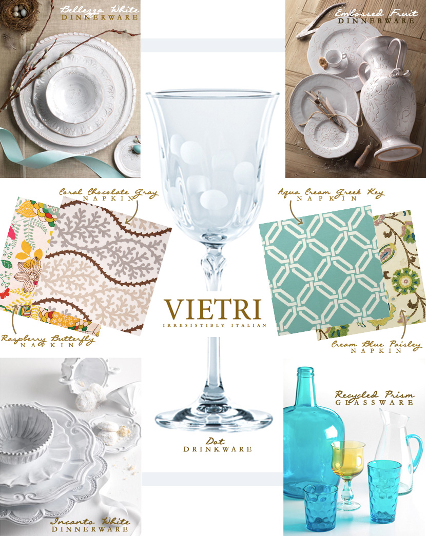 Oklahoma wedding registry items from Vietri
