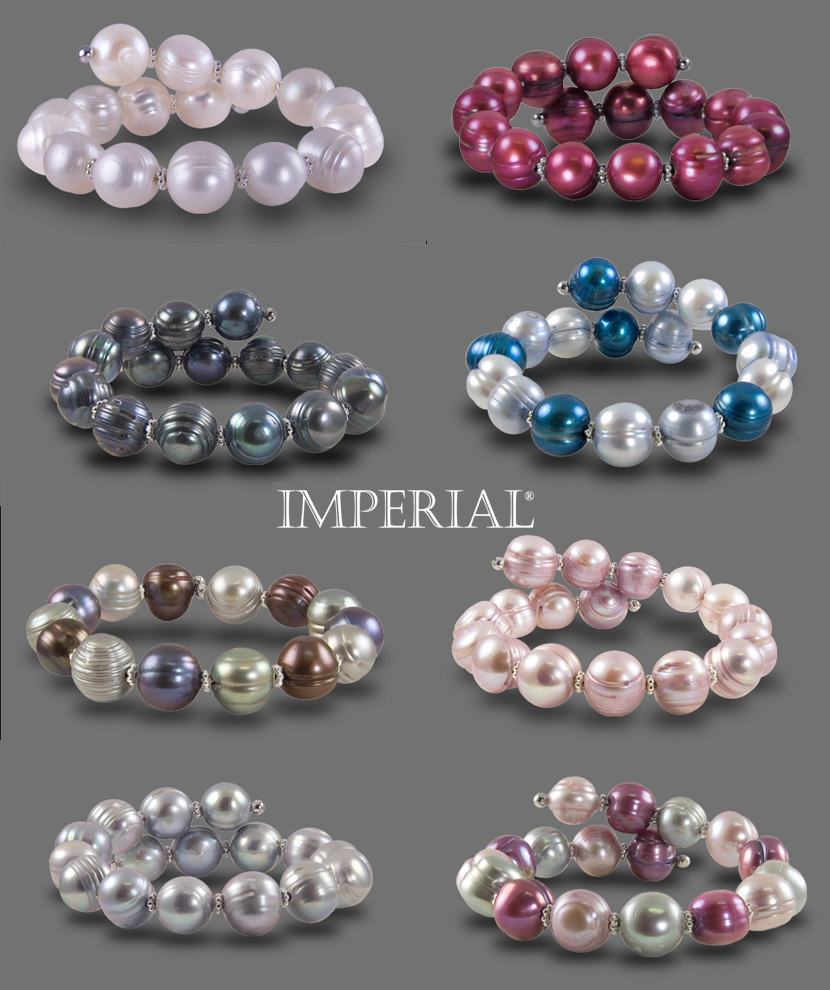 Imperial Pearls bridesmaids gifts from Lewis Jewelers and J. David Jewelry in Oklahoma