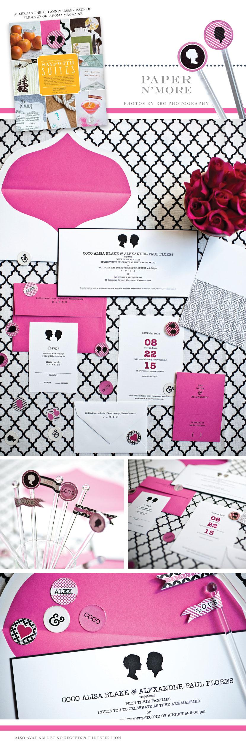 Paper N More Invitation Suite