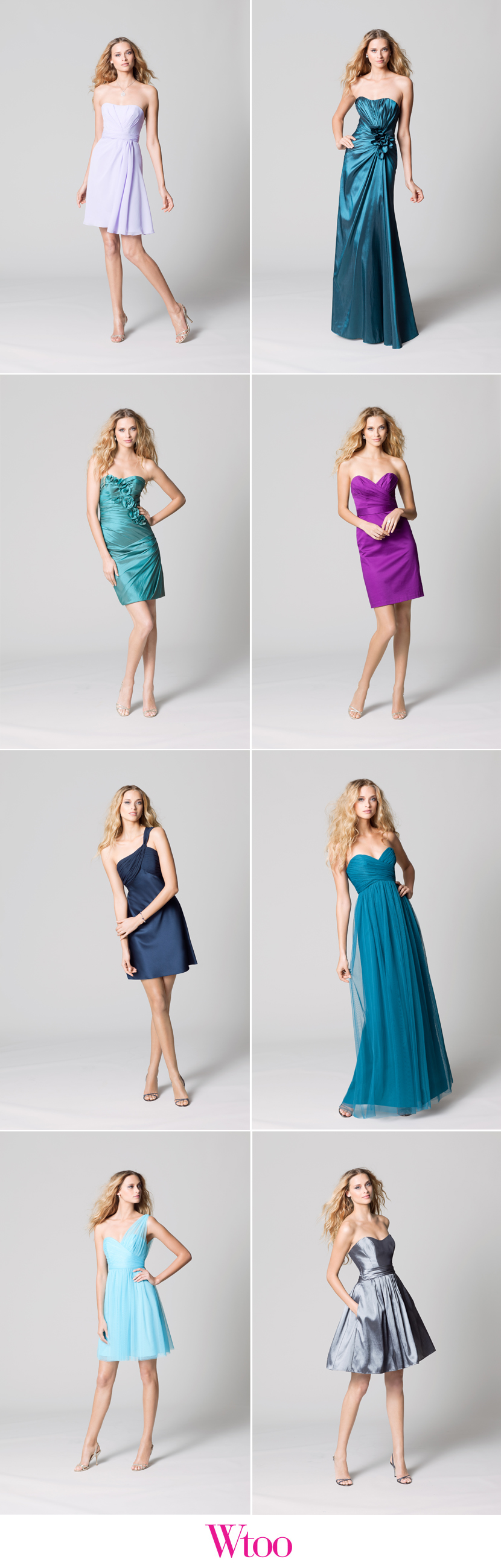 Fall 2012 Wtoo bridesmaid collection