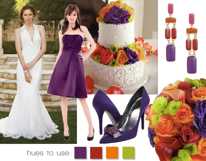 Wedding Inspiration - Playing with Color