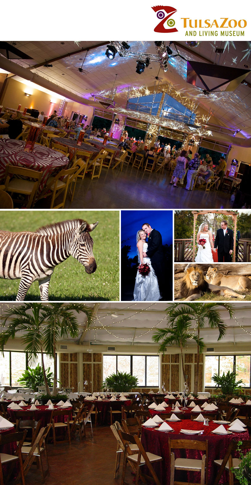 Looking For An Exotic Location Your Wedding Or Reception The Tulsa Zoo Living Museum Offers Both Beautiful Garden Settings As Well Indoor