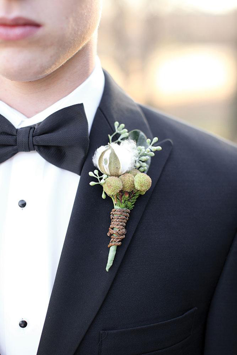 Wedding Boutonnieres For The Groom