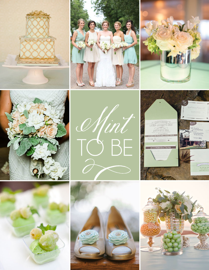 Mint to be mint green wedding inspiration this mellow hue continues to trend in wedding schemes and we dont mind one bit if youre planning a mint green wedding here are some of our favorite junglespirit Images