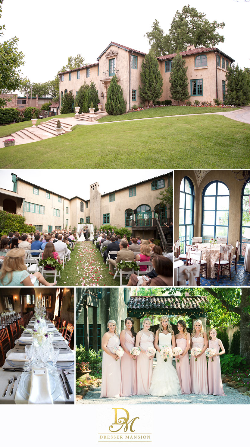 From Dreamy Elegance To Cutesy Creative The Dresser Mansion In Tulsa Provides A Unique Location For Your Wedding Day S Exterior